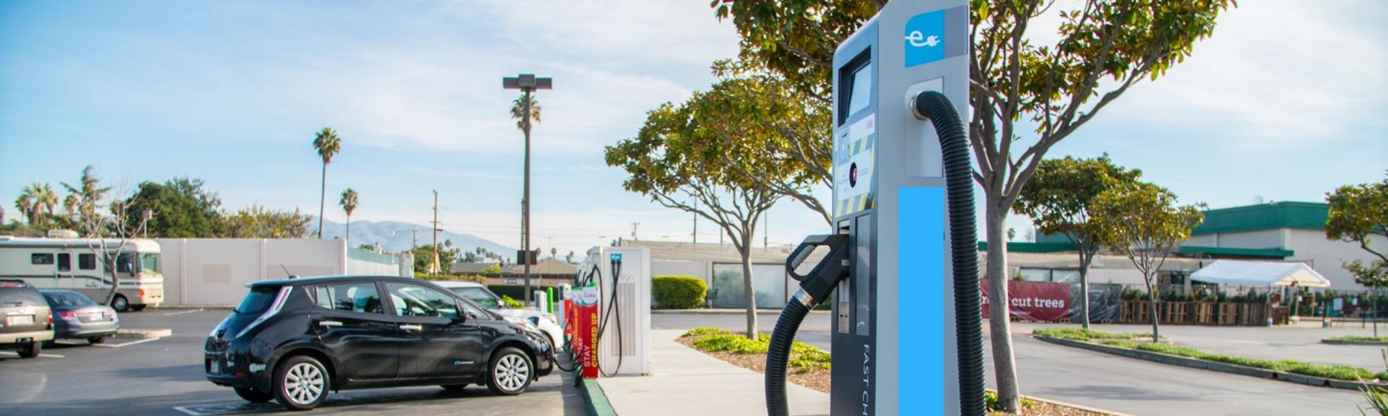 EV charging station
