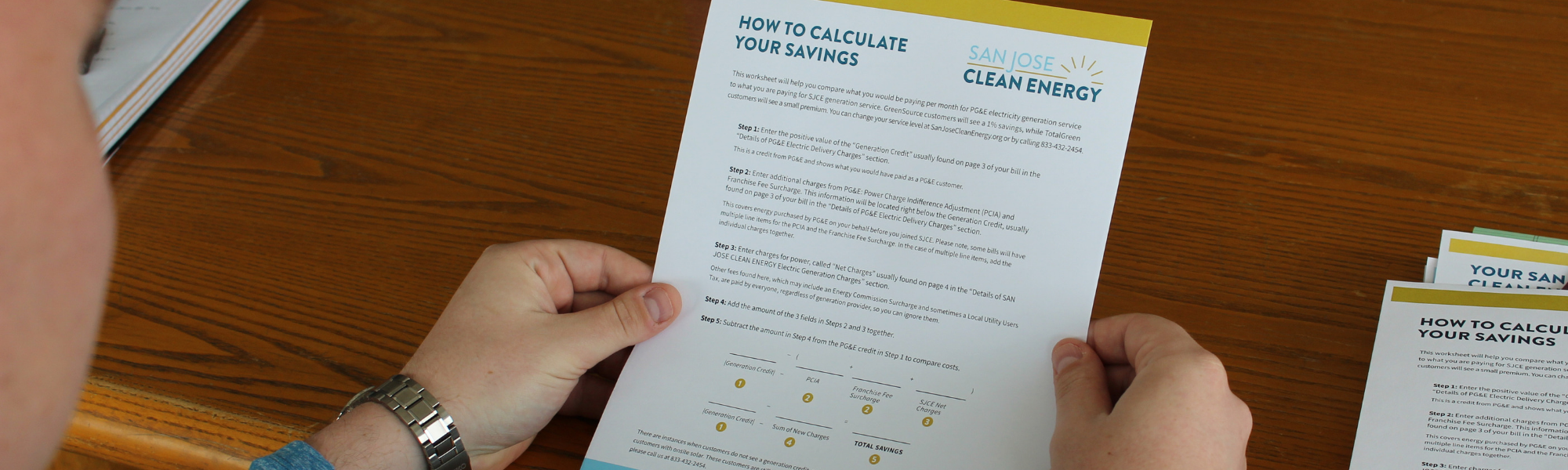 Calculate your savings with San Jose Clean Energy